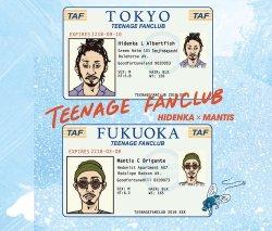 画像1: HIDENKA × MANTIS / TEENAGE FANCLUB