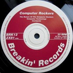 """画像1: (used 12"""") Computor Rockers / The Return Of The Computor Rockers"""