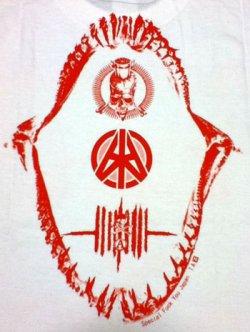 画像3: WARHEAD / T-Shirt 白×赤